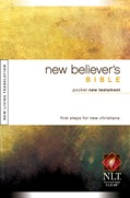 Cover: New Believer's Bible Pocket New Testament NLT