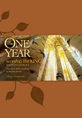Cover: The One Year Worship the King Devotional