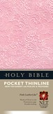Pocket Thinline New Testament with Psalms & Proverbs NLT : LeatherLike, Pink