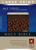 Cover: Slimline Center Column Reference Bible NLT, Compact edition, Large Print