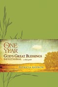 Cover: The One Year God's Great Blessings Devotional