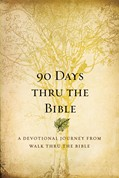 Cover: 90 Days Thru the Bible