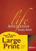Cover: Life Application Study Bible NIV, Large Print
