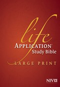 Cover: NIV Life Application Study Bible, Second Edition, Large Print