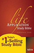 Cover: Life Application Study Bible NIV, Personal Size