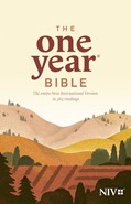 Cover: The One Year Bible NIV