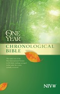 Cover: The One Year Chronological Bible NIV