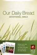Cover: Our Daily Bread Devotional Bible NLT