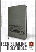 Cover: Teen Slimline Bible NLT