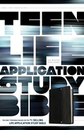 Cover: Teen Life Application Study Bible NLT
