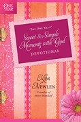 Cover: The One Year Sweet and Simple Moments with God Devotional