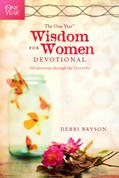 Cover: The One Year Wisdom for Women Devotional