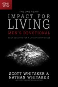 Cover: The One Year Impact for Living Men's Devotional