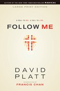 Cover: Follow Me large print edition