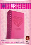Girls Life Application Study Bible NLT cover