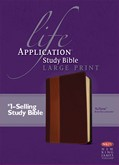 Cover: NKJV Life Application Study Bible, Second Edition, Large Print