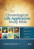 Cover: Chronological Life Application Study Bible KJV