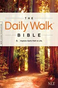 Cover: The Daily Walk Bible NLT