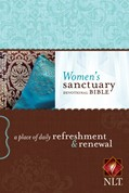 Cover: Women's Sanctuary Devotional Bible NLT