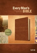 Cover: Every Man's Bible NIV, Deluxe Journeyman Edition