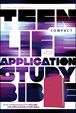 Teen Life Application Study Bible NLT, compact edition : LeatherLike, Pink