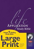 Cover: Life Application Study Bible NKJV Large Print