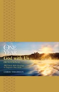Cover: The One Year God with Us Devotional