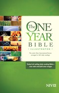 Cover: The One Year Bible Illustrated NIV