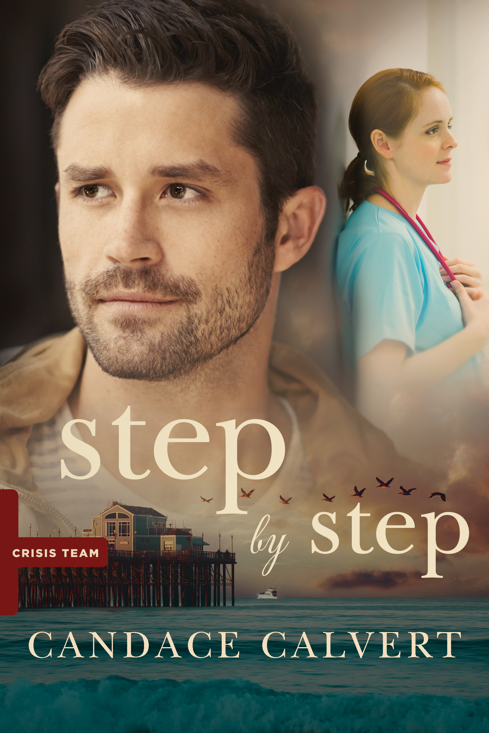 Book review of Step By Step by Candace Calvert (Tyndale) by papertapepins