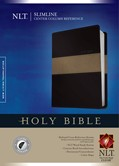 Cover: Slimline Center Column Reference Bible NLT