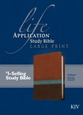 Cover: Life Application Study Bible KJV, Large Print