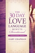 Cover: The 30-Day Love Language Minute Devotional Volume 1