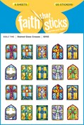 Cover: Stained Glass Crosses