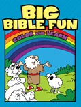 Cover: Big Bible Fun Color and Learn