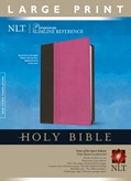 Cover: Premium Slimline Reference Bible NLT, Large Print