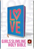 Cover: Girls Slimline Bible NLT