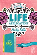 Cover: NLT Girls Life Application Study Bible