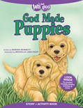 Cover: God Made Puppies Story + Activity Book