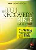 Cover: The Life Recovery Bible NLT, Large Print