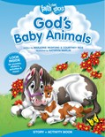 Cover: God's Baby Animals Story + Activity Book