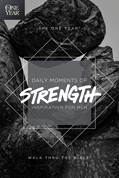 Cover: The One Year Daily Moments of Strength