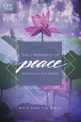Cover: The One Year Daily Moments of Peace