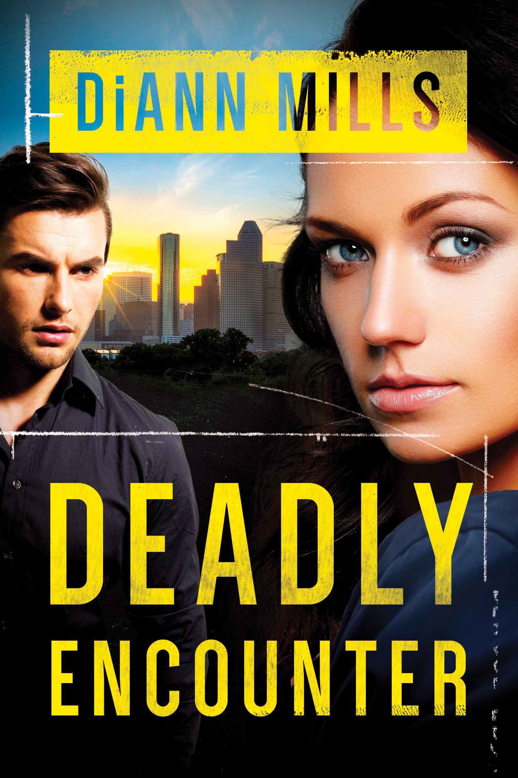 Book review of Deadly Encounter by DiAnn Mills (Tyndale) by papertapepins