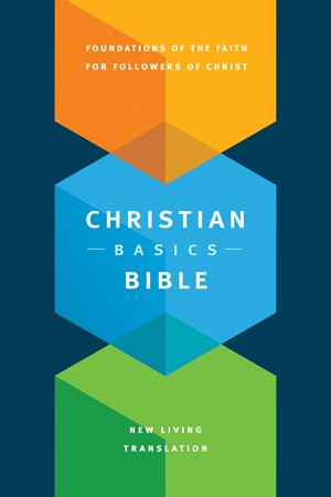Front cover image of the Christian Basics Bible, a great Bible gift for new believers!