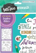 Cover: Galatians 5:22-23 Colorable Stickers