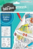 Cover: Joshua 1:9 Colorable Stickers