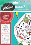 Cover: Psalm 103:2 Colorable Stickers