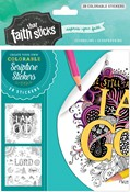Cover: Psalm 46:10 Colorable Stickers