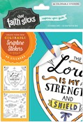 Cover: Psalm 28:7 Colorable Stickers