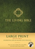 Cover: The Living Bible Large Print Red Letter Edition